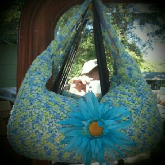 Crocheted Handbag Soft as a babies butt Bags Totes