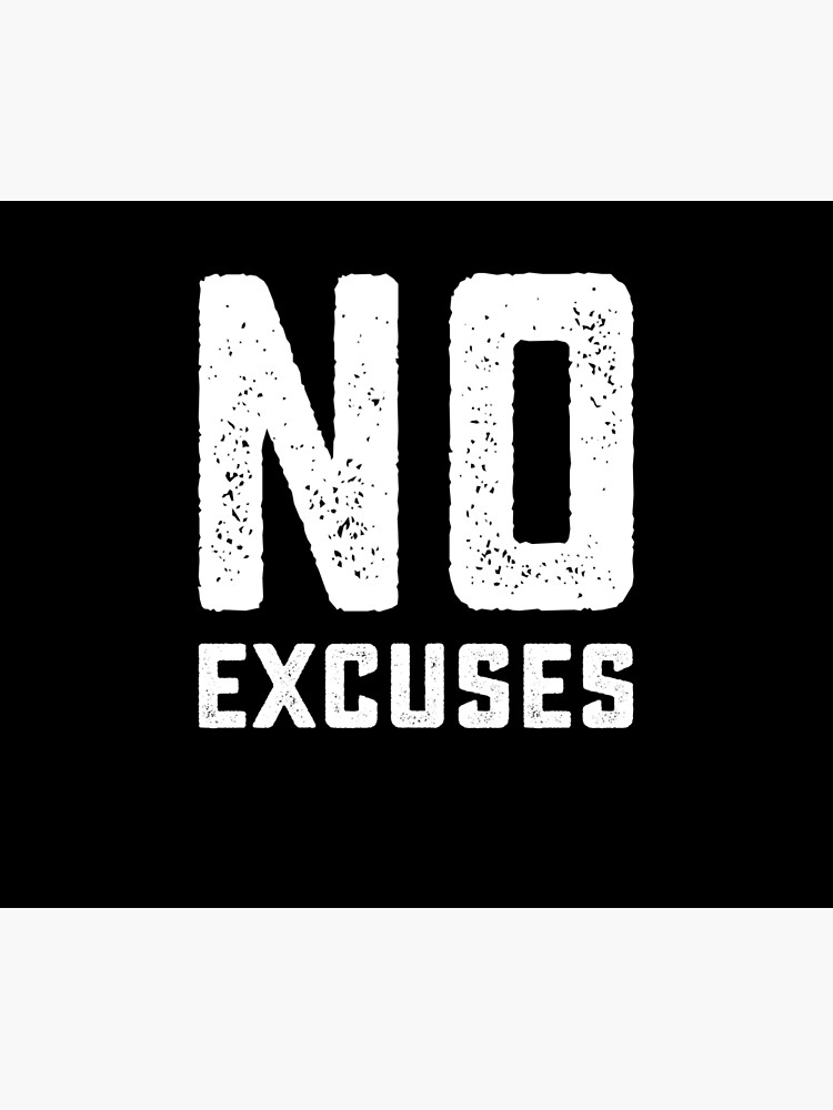 No Excuses Gym Quotes Gym Quote Quotes Tech Company Logos