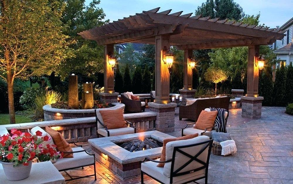 Cool Outdoor Pergola Lighting Fixtures In 2020 Backyard Layout
