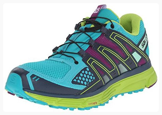 27d6bb20cf477 Salomon Women's X-Mission 3 W Trail Running Shoe, Teal Blue/Granny ...
