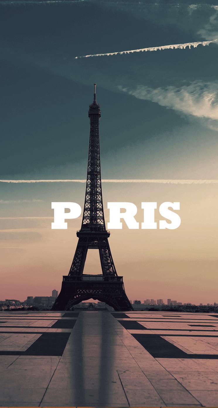 Париж Обои На Айфон