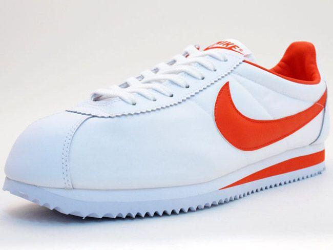 wholesale dealer d0c3a ac7fc Nike Classic Cortez Nylon  White  Orange Memories...Go Tigers!