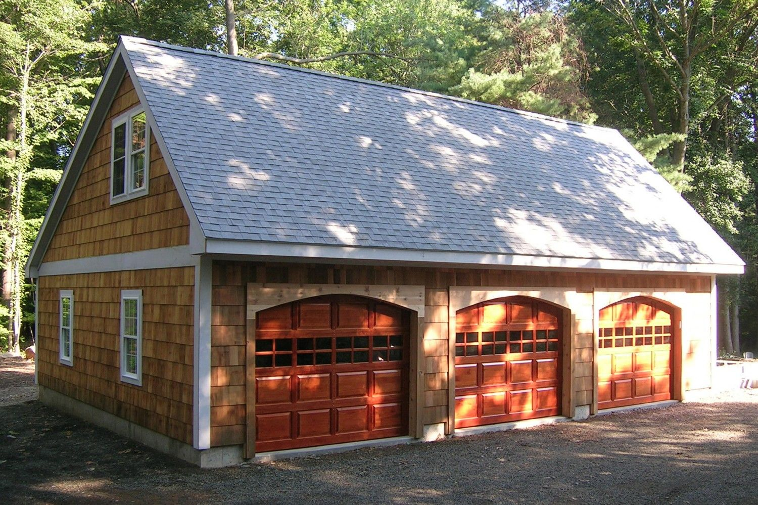 Berkshire: Saltbox-Style 1 ½ Story Garage: The Barn Yard & Great
