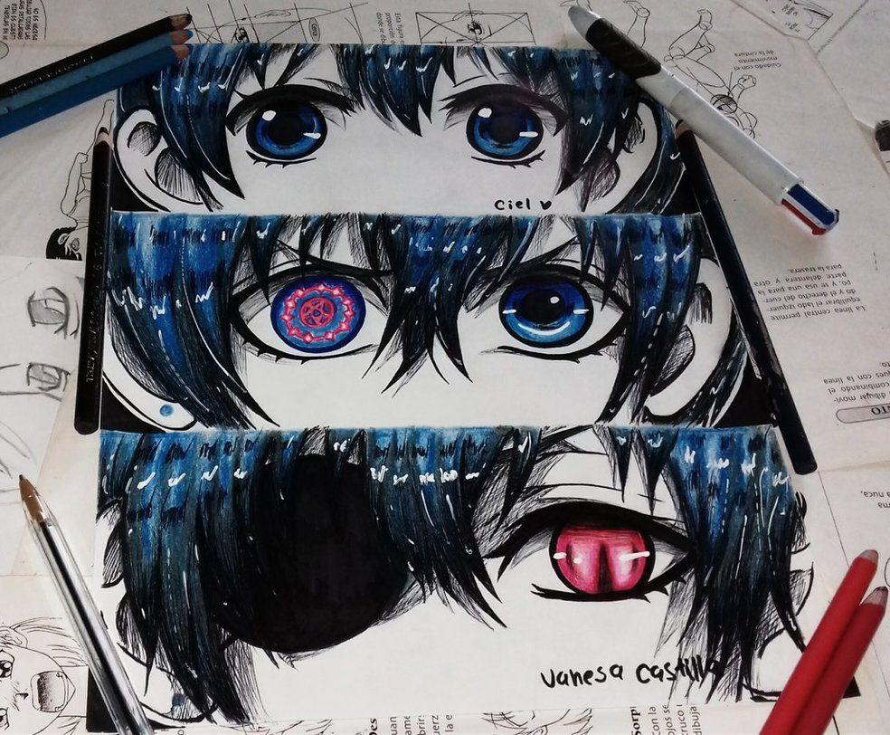 ciel eyes by queencastilla