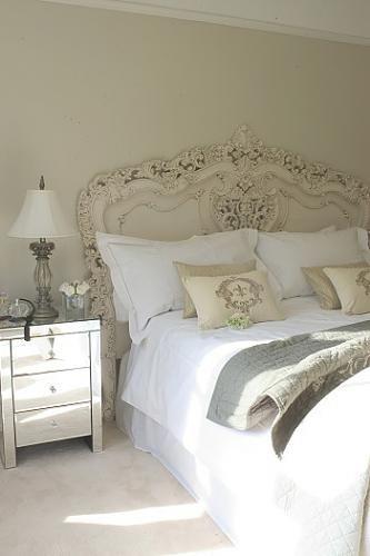 Kopfteil Betthaupt | Bedroom + DIY Bett Schlafzimmer | Pinterest | Shabby,  Bedrooms And Pretty Bedroom