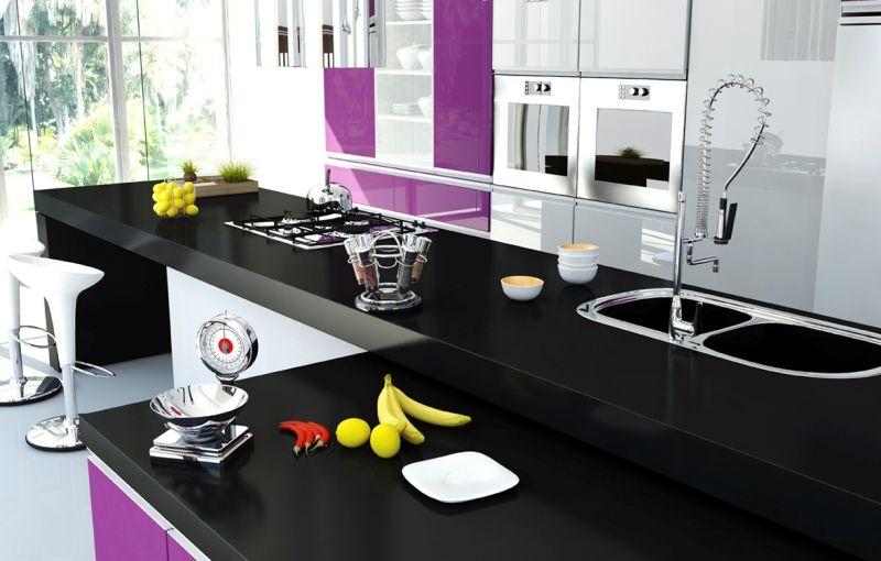 Cocina Morada | Gorpen Cocina Morada Cocinas Gorpen Cocinas Pinterest