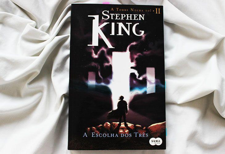 Resenha A Escolha Dos Tres Stephen King Resenha Livros Colecao De Livros