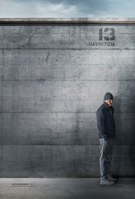 Haymitch's MOCKINGJAY District 13 Character Poster