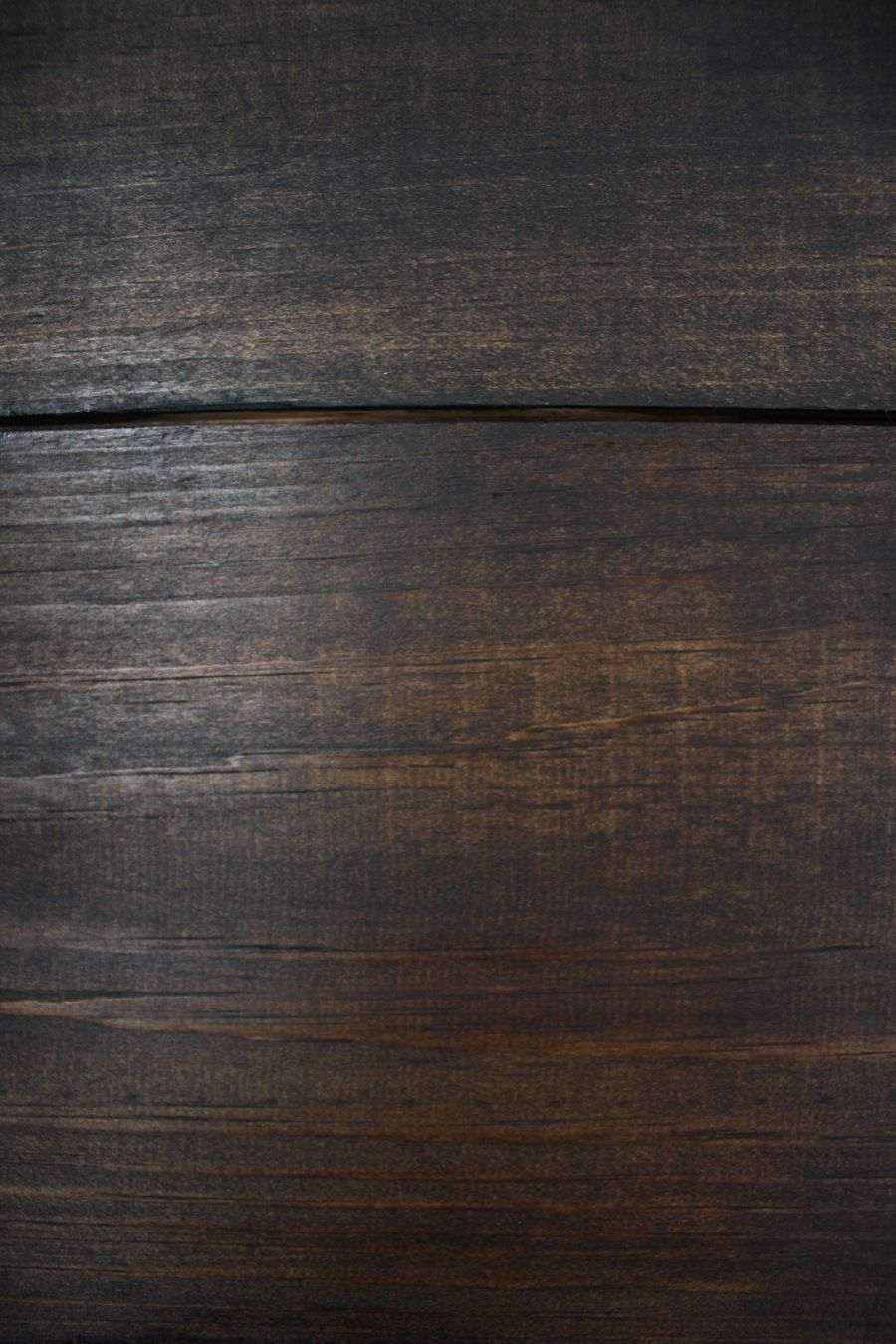 Adding A Coat Of Jacobean Minwax Stain Over The Dark Walnut Left This Beautiful Rich Color