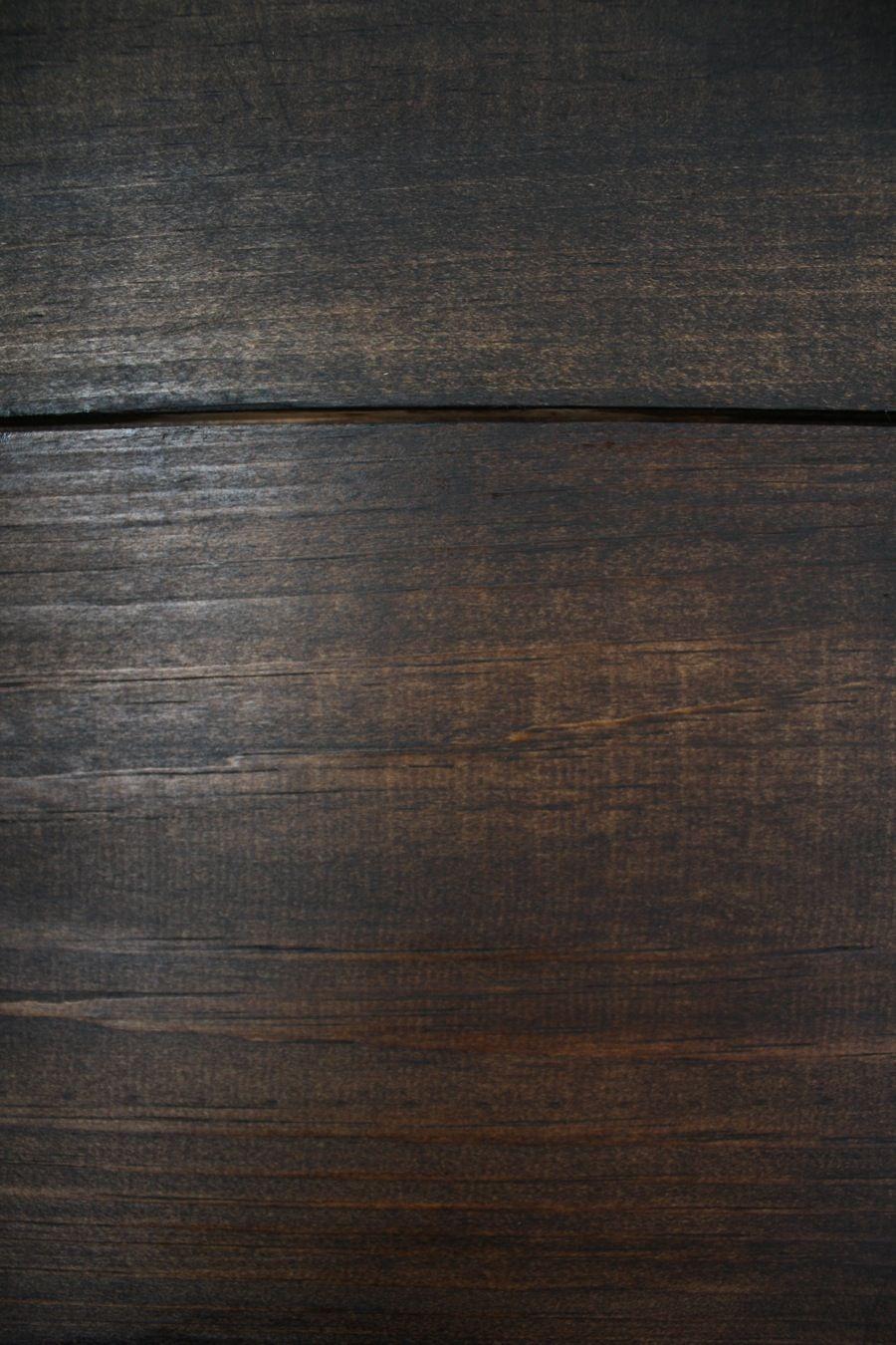 Adding a coat of jacobean minwax stain over the dark walnut left