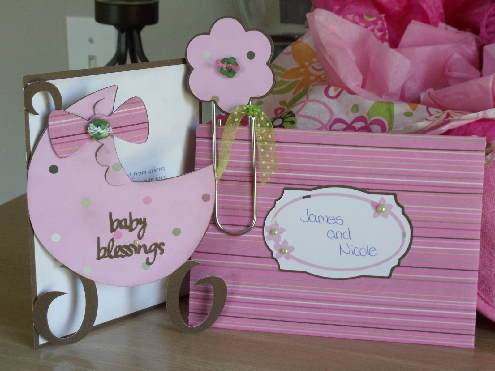 Cricut Baby Shower Ideas - Made This Cute Baby Shower