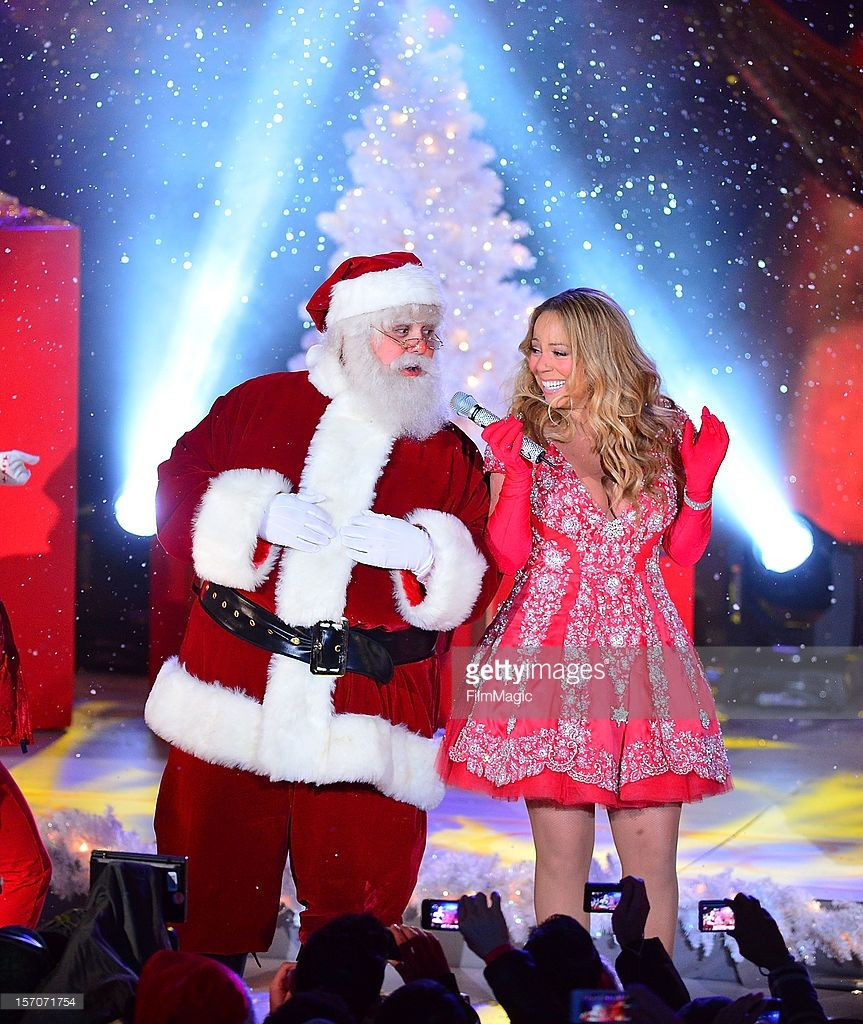 Nbc Christmas Tree Lighting 2019 Mariah Carey sings during a pre tape performance for NBC's