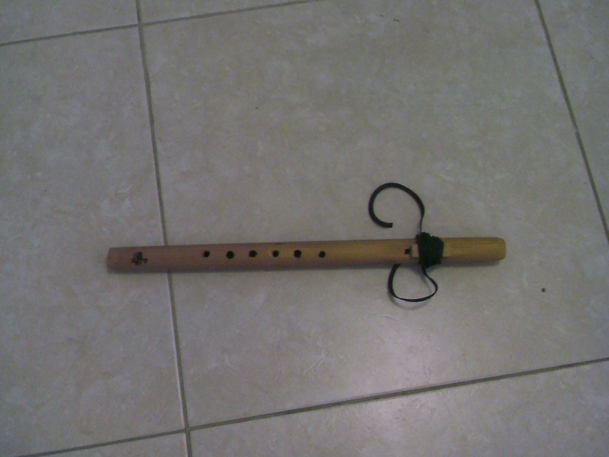 Cedar Native American style courting flute made from a kit
