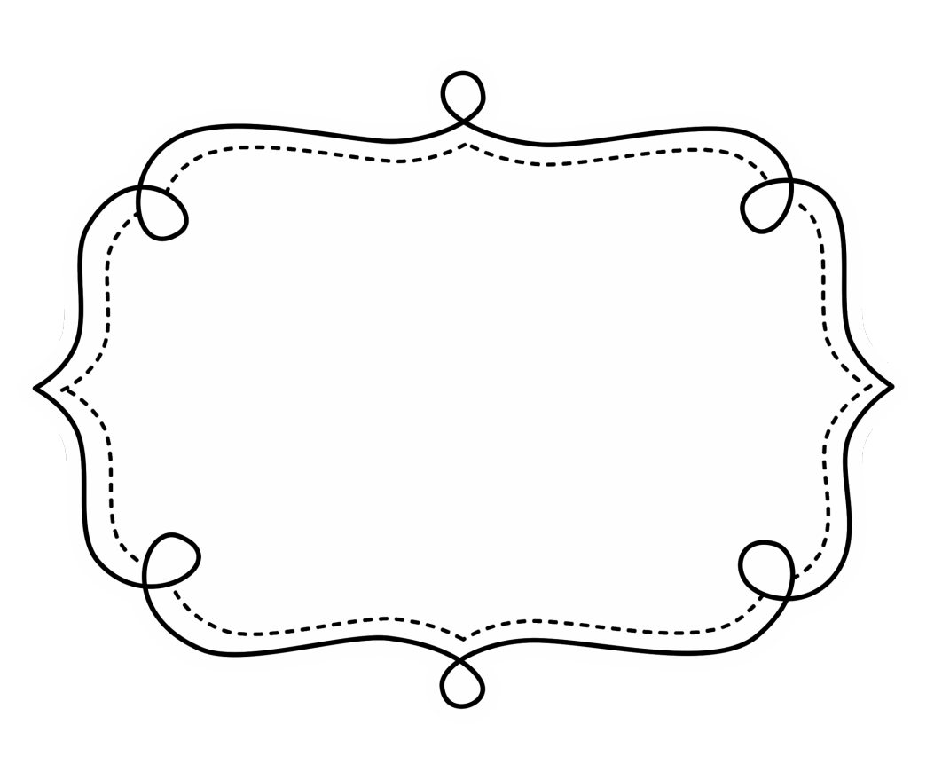 Printcandee Doodleframes4 10 870