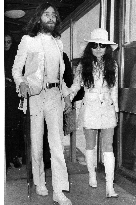 John Lennon and Yoko Ono   - Veranda.com