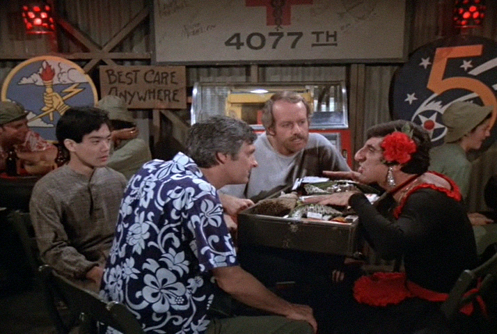 M*A*S*H , The Price, ,Episode aired 15 January 1979 , mash , 4077,  Jamie Farr , Maxwell Klinger, Mike Farrell , Captain B.J. Hunnicut,