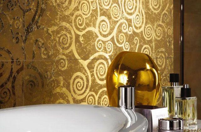 Naturstein-Dekor -badezimmer fliesen ideen Badezimmer - ideen badezimmer fliesen
