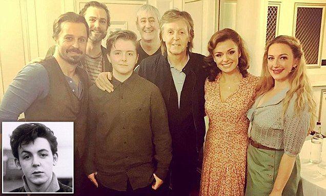 Paul McCartneys Daughter Beatrice Copies Dads Famous Quiff