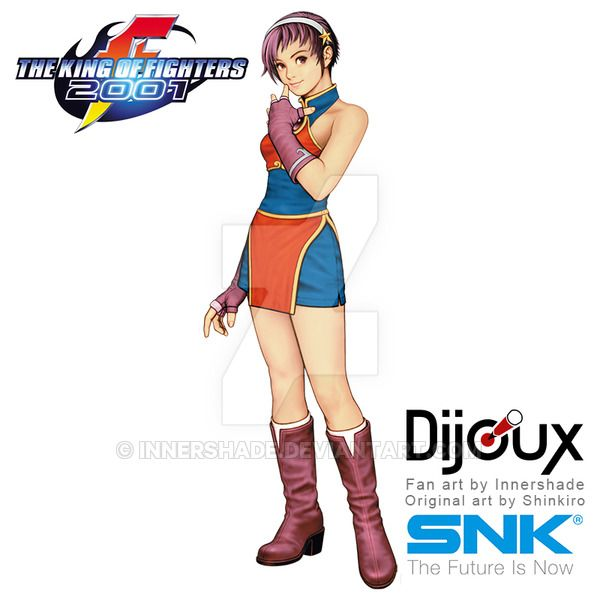 Shinkiro Style Kof 2001 Athena Asamiya By Innershade King Of Fighters Fighter Girl Fighter