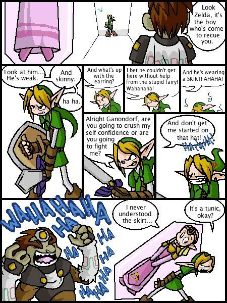 King And Zelda Laugh