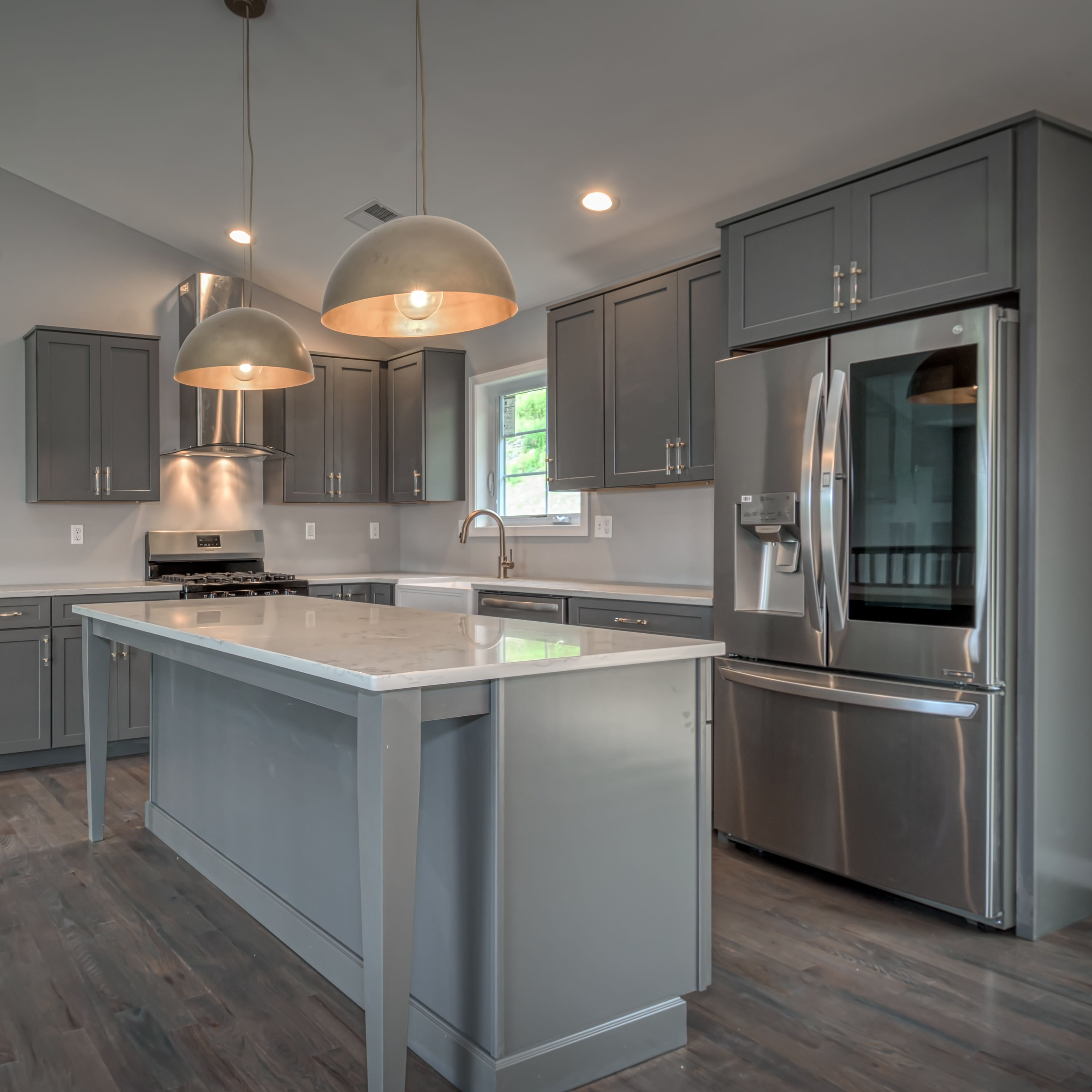 """Waypoint Living Spaces 410F cabinets in """"Boulder"""" and ..."""