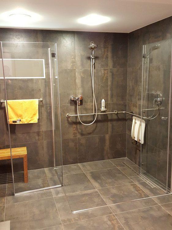 barrierefreie Dusche, altersgerchte Dusche