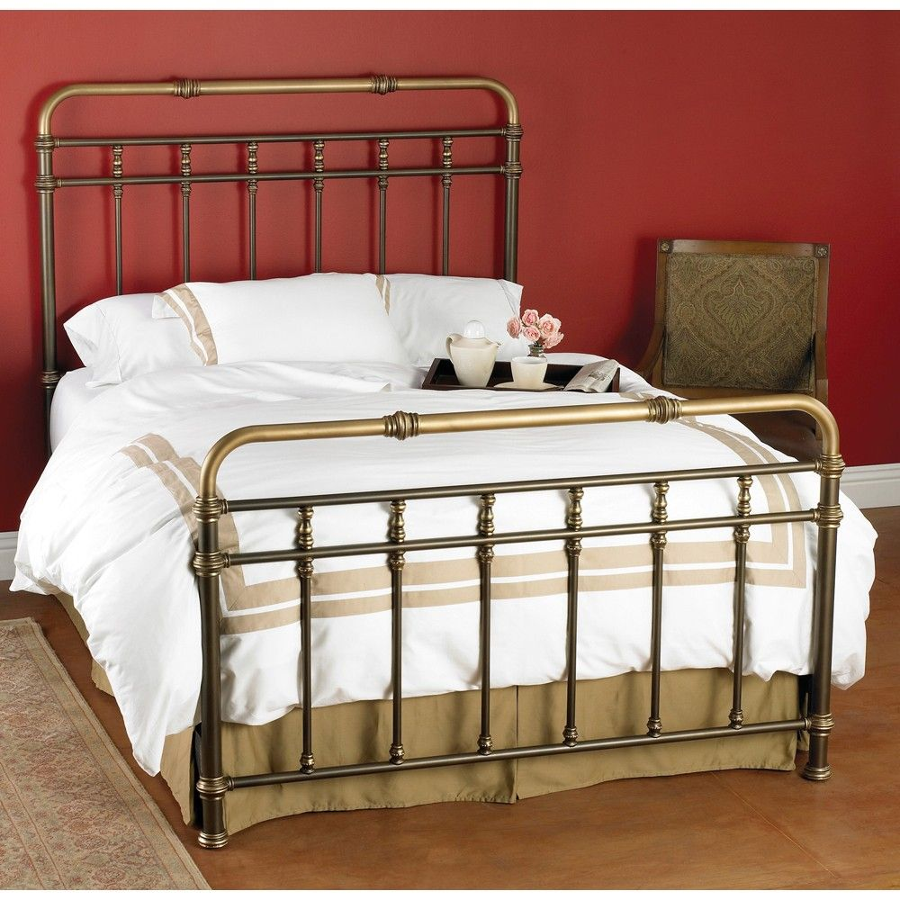 Laredo Iron Trundle Bed by Wesley Allen Textured
