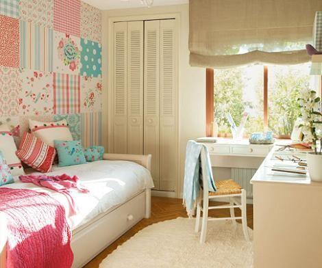 Dormitorio vintage chica sugerencias de decoraci n for Habitaciones juveniles nina
