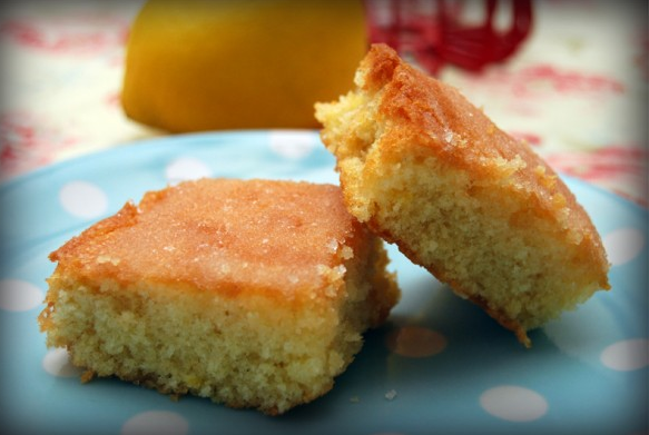 Lemon drizzle by Mary Berry