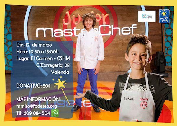 Masterclass en Valencia de Manuel y Lukas de Masterchef Junior - http://www.valenciablog.com/masterclass-en-valencia-de-manuel-y-lukas-de-masterchef-junior/