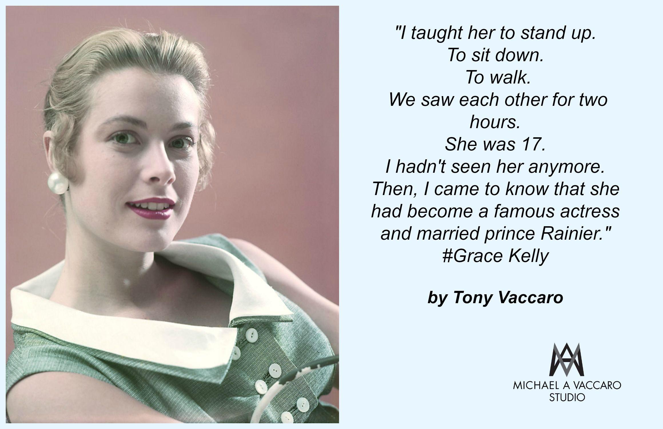 Tony Vaccaro photographed Grace Kelly