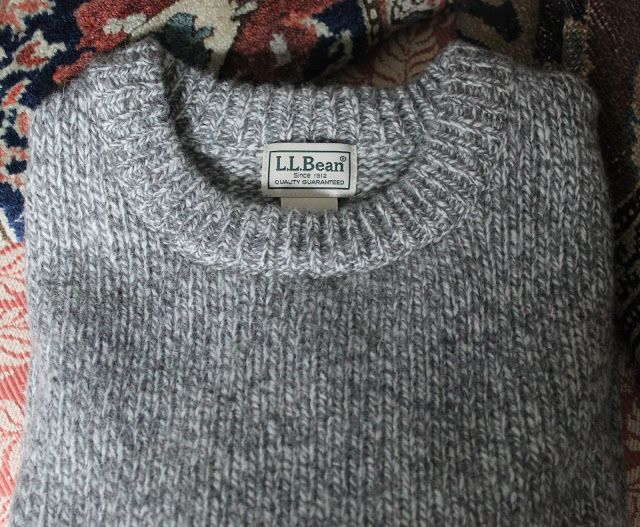 The Daily Prep: L.L. Bean's Men's Ragg Wool Crewneck Sweater Is ...