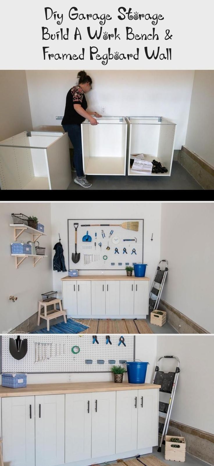 Most current Photographs DIY garage workbench from Ikea