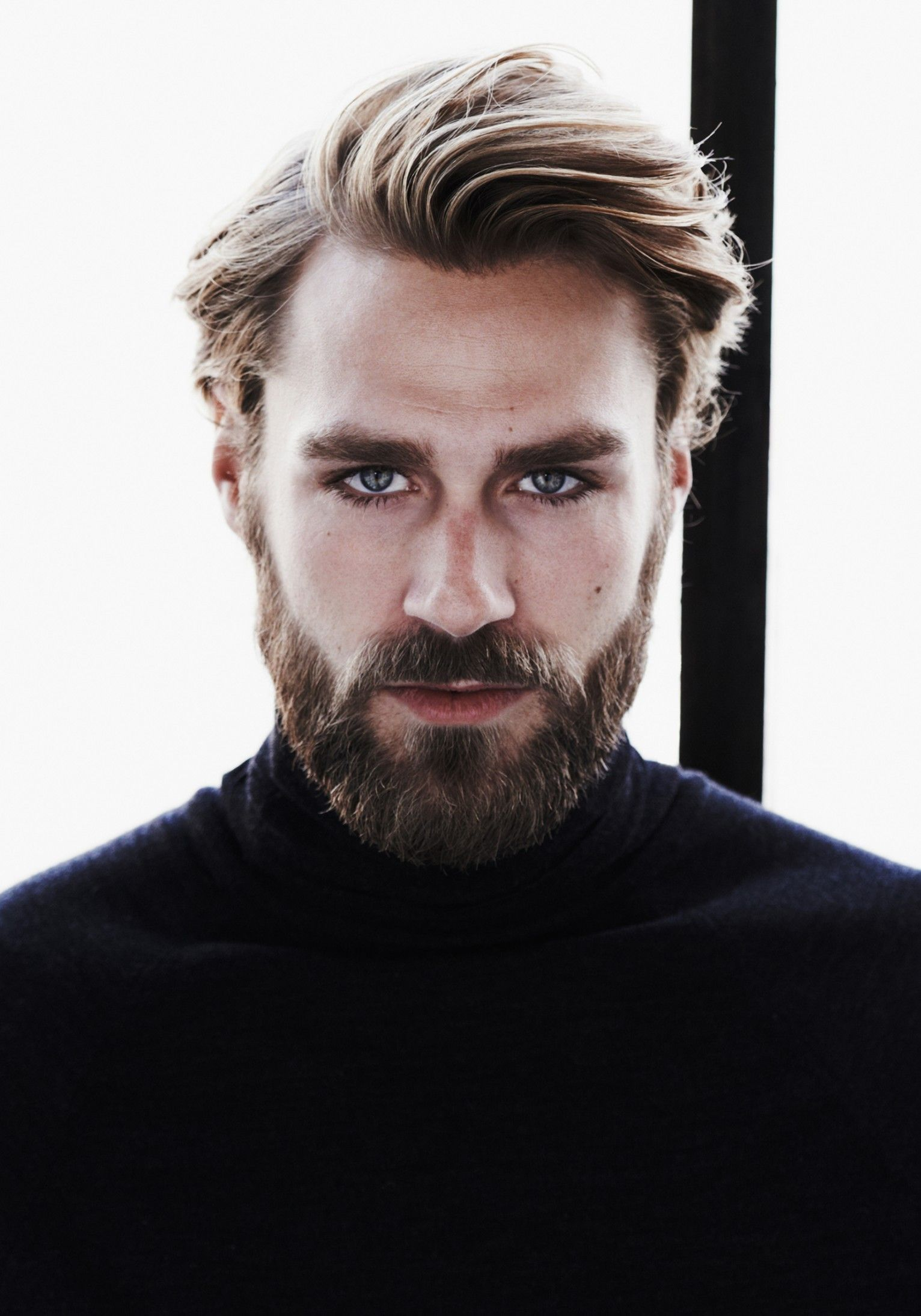 Dark Blonde With Beard And Great Hair Beards For Fears
