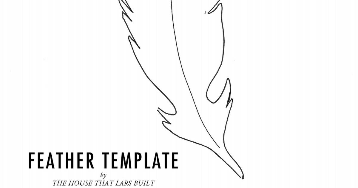 Feather Template | Feather Template Pdf Kaloz Farsang Pinterest Feather Template