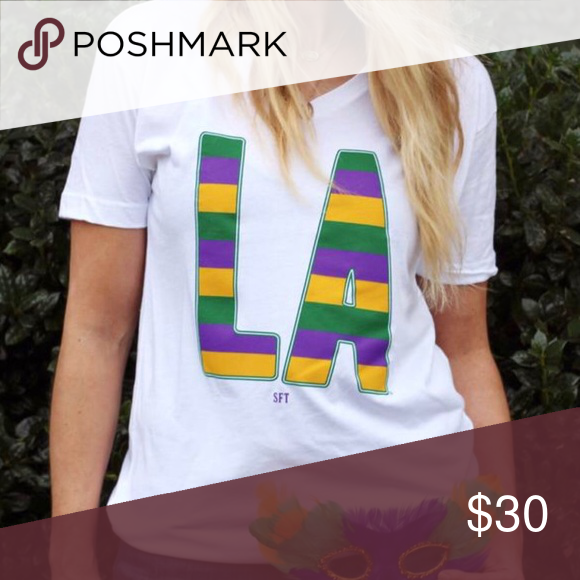 87d8035e0 Mardi Gras LA Louisiana New Orleans T Shirt Mardi Gras rugby shirt! We're  showing our Louisiana state pride all Carnival season long with the iconic  purple, ...