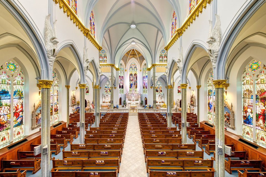 Basilica Of The Immaculate Conception In Jacksonville Florida Usa