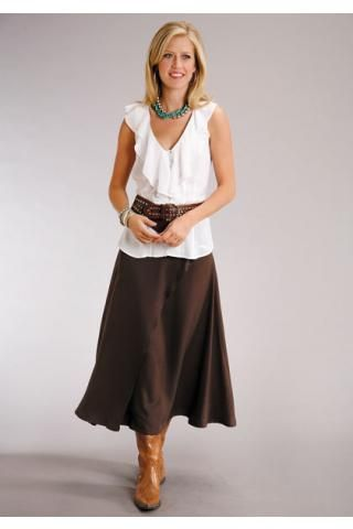 Clothing · Western Wear Skirts for Women ...