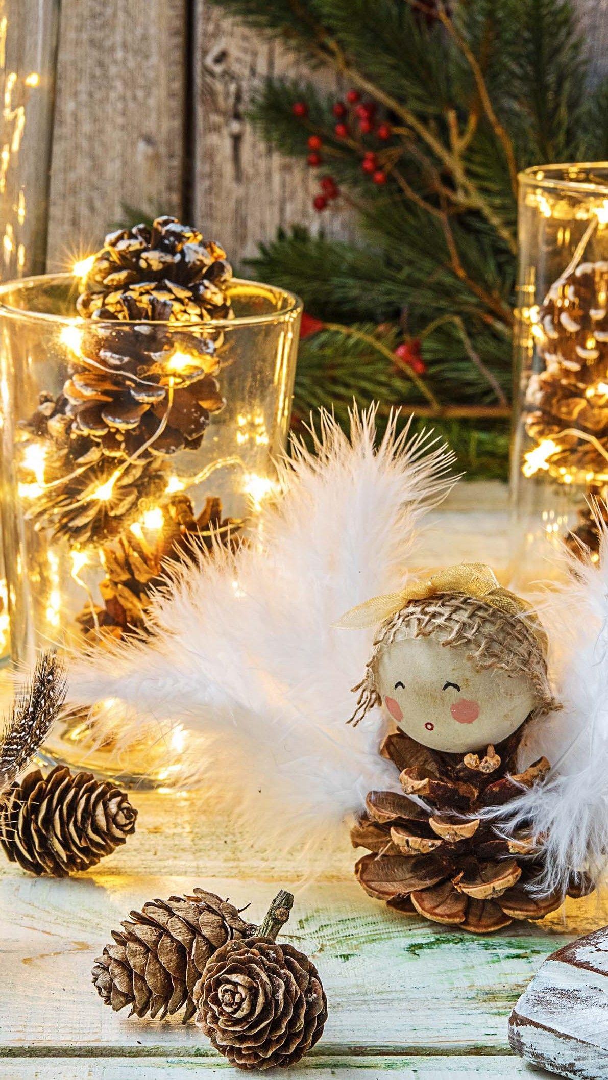 Weihnachtsdeko Zum Essen.3 Dinge Die Du Aus Tannenzapfen Basteln Kannst Einfach Selber