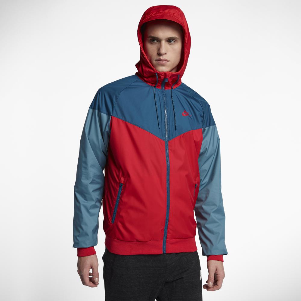 6aed3afb8409 Nike Sportswear Windrunner Men s Jacket Size Medium (Red)