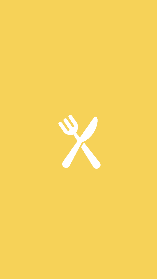 Yellow Food Instagram Story Highlights Template Instagram Icons