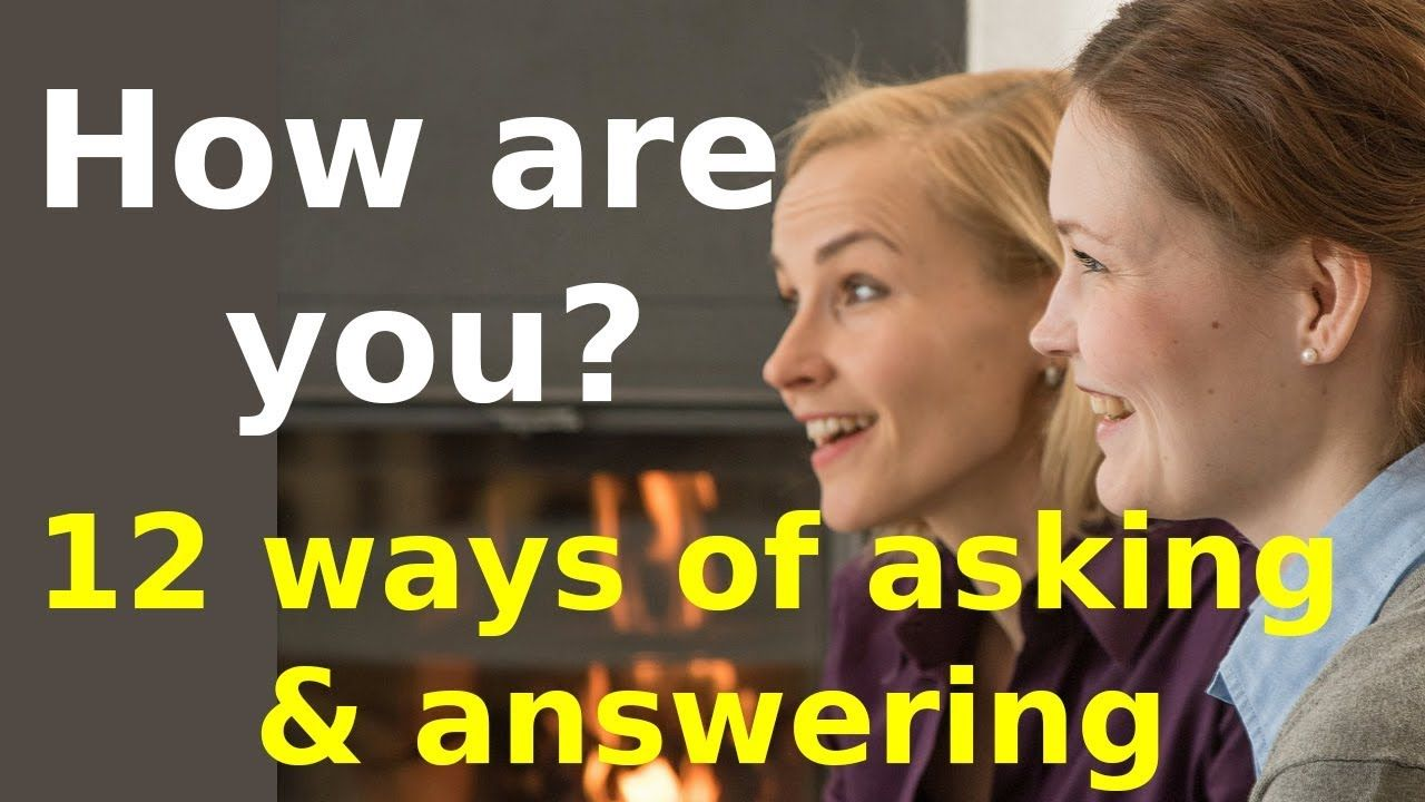 How are you meaning in Hindi 12 ways of asking and