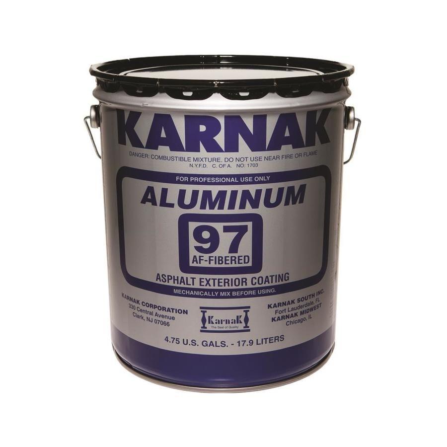 Karnak 97 Fibered Aluminum 5 Gallon Aluminum Reflective Roof Coating 3 Year Limited Warranty 97 5 Lw In 2020 Roof Coating Gallon Aluminum Roof