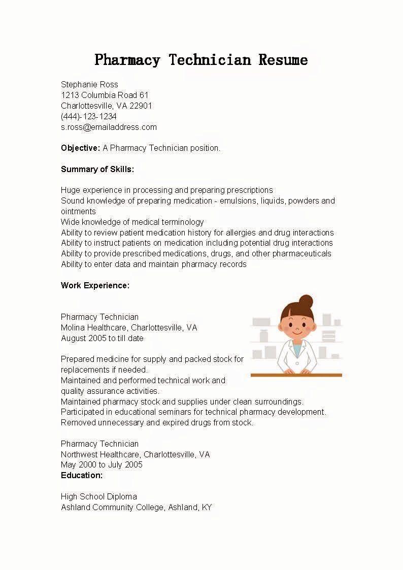 Pharmacy Tech Resume Samples Lovely Resume Samples Pharmacy Technician Resume Sample Pharmacy Tech Pharmacy Technician Business Budget Template