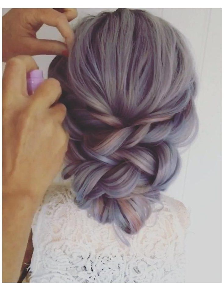 bridesmaid hair updo videos