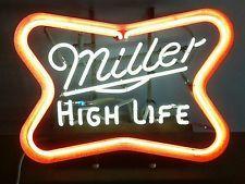 Vintage miller high life large flashing neon beer sign bar light vintage miller high life large flashing neon beer sign bar light aloadofball Choice Image