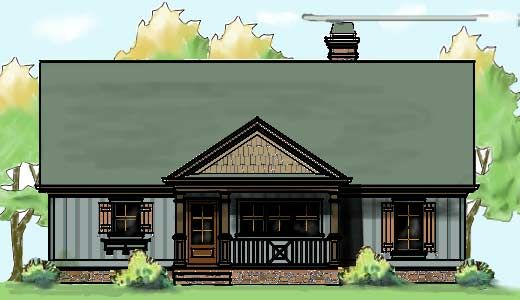 3 bedroom lake cabin floor plan | house plans, home and lakes
