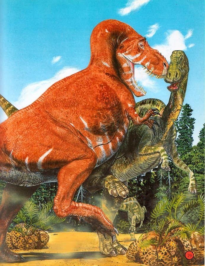 T rex vs Edmontosaurus | Dinosaur art, Prehistoric animals ...