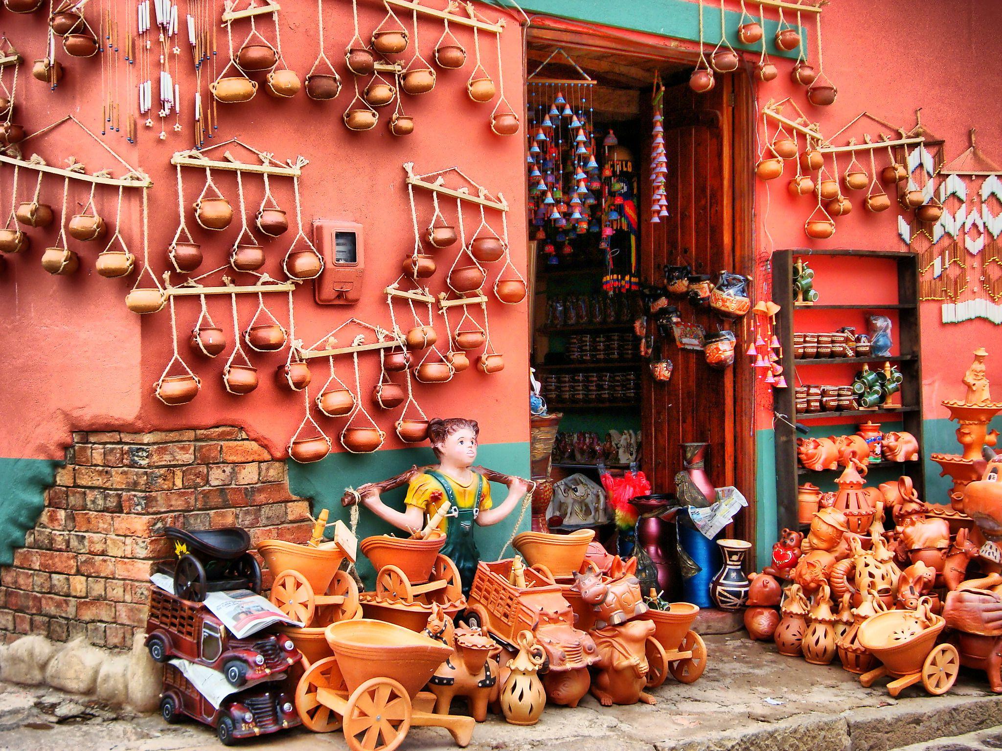 wall mercado de ventas de artesan a bogot colombia