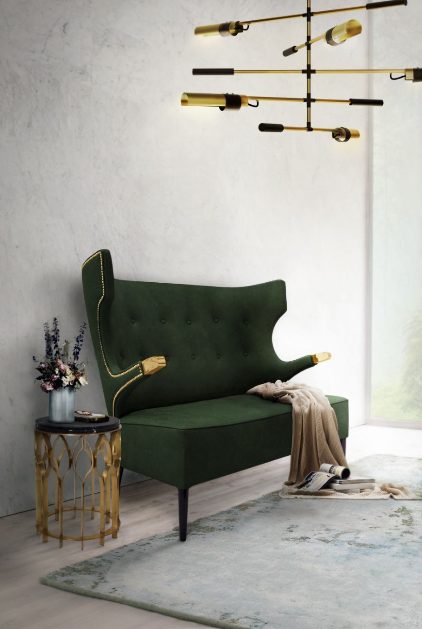 9 Amazing Velvet Sofas By BRABBU That You Will Want To Have This ...